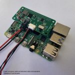Pi-Connect Lite with Raspberry Pi, power cable and Pixhawk telemetry cable
