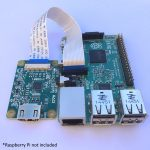 HDMI to CSI converter with cable and Raspberry Pi